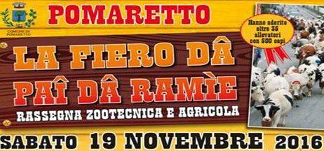 Fiera di Pomaretto 19 novembre