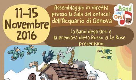 Dall'acquario di Genova fino a Papa Francesco: la solidarietà in un'arca di cioccolato