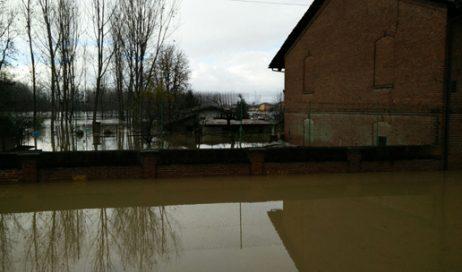 Allarme meteo in Val Noce e Pianura: a Villafranca acqua nelle case