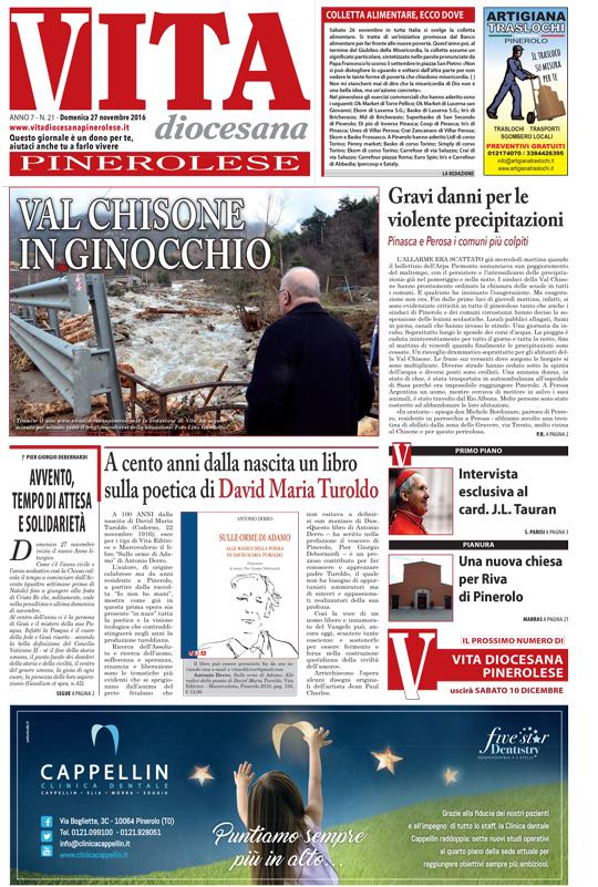 prima-pagina-vita-diocesana-pinerolese-numero-21-27-novembre-2016