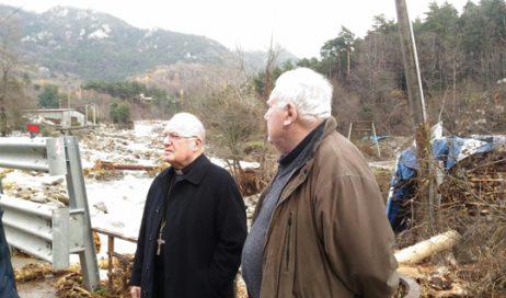 Alluvione in Val Chisone: situazione critica a Perosa, un disperso