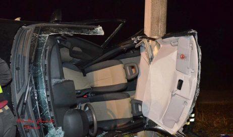 Incidente stradale a Riva di Pinerolo. Tre feriti
