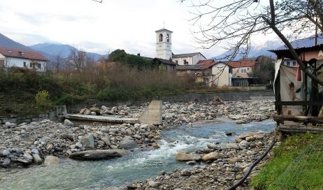Alluvione in Val Chisone: 6-7 milioni di danni a Perosa; 3-4 a Pinasca