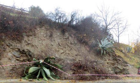 Allarme meteo in Val Pellice: frane a Montoso e Pra d' Mill