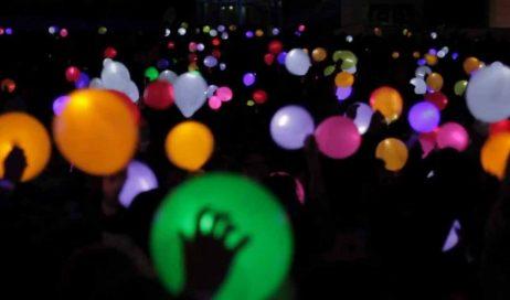 Pinerolo. Capodanno: palloncini al posto delle lanterne