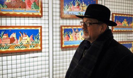 [ photogallery ] Al Museo Diocesano di Pinerolo le opere di don Mauro Roventi Beccari