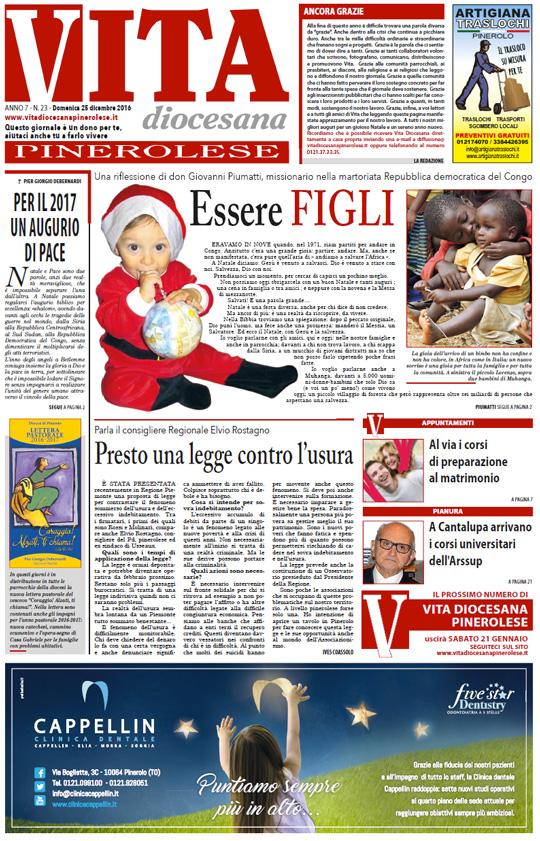 prima-pagina-vita-diocesana-pinerolese-numero-23-25-dicembre-2016