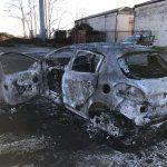 L'auto bruciata di don Jesus