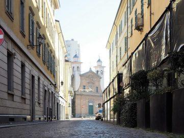 Via Trieste a Pinerolo