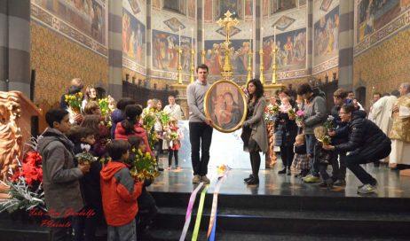 [photogallery]Pinerolo. Messa della Pace per festeggiare l'anno nuovo