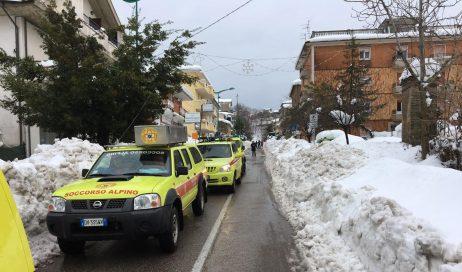 Soccorso alpino piemontese all'Hotel Rigopiano: riprese le ricerche