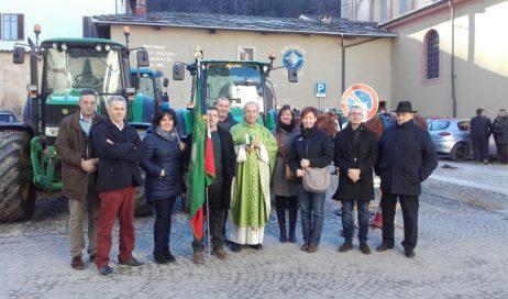 Cavour in festa per sant'Antonio