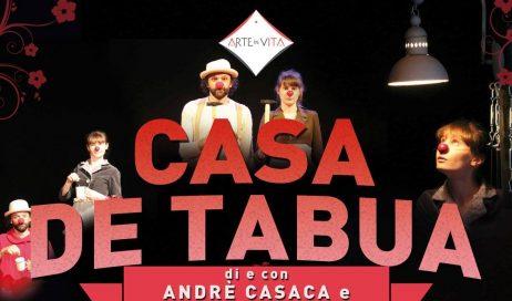 """Pinerolo. Sabato 25 febbraio """"Casa de Tabua"""" al Teatro Incontro"""