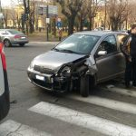 incidente via martiri - Foto Gandolfo