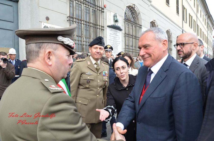 [ photogallery ] La visita del presidente Grasso a Pinerolo
