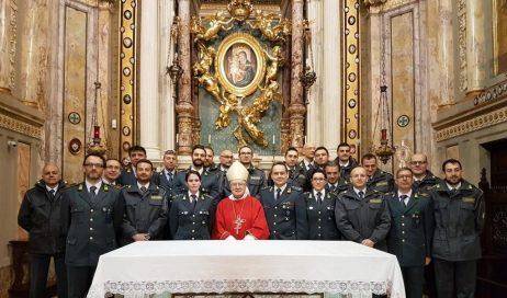 Pinerolo. Il vescovo ha presieduto la Pasqua della guardia di finanza