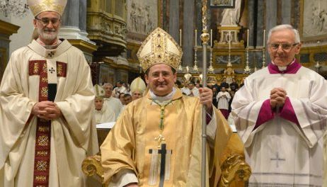 Vercelli. Ordinato il nuovo Vescovo di Saluzzo, Cristiano Bodo. È il più giovane d'Italia