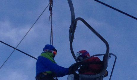 Prato Nevoso. Si blocca la funivia. Evacuati 130 sciatori