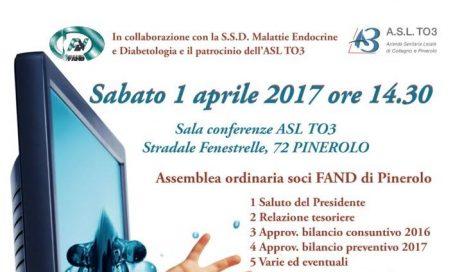 Sabato 1 aprile a Pinerolo un convegno sulle nuove cure per il diabete