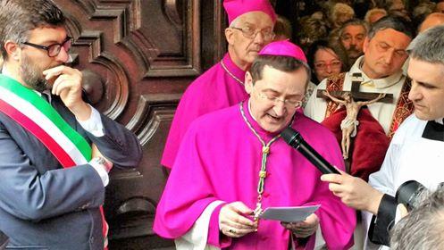 Monsignor Crisrtiano Bodo - Foto Corriere Saluzzo