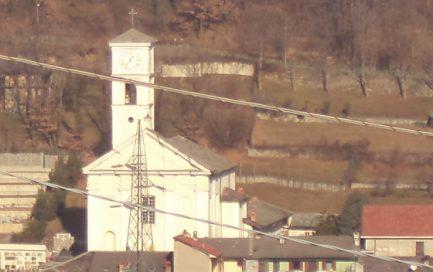 La chiesa di Santa Maria Assunta a Pinasca