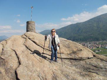 Wanda sulla Rocca di San Valeriano
