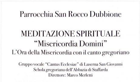 Dubbione. Concerto gregoriano dopo Pasqua