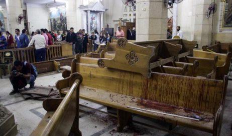La chiesa violentata