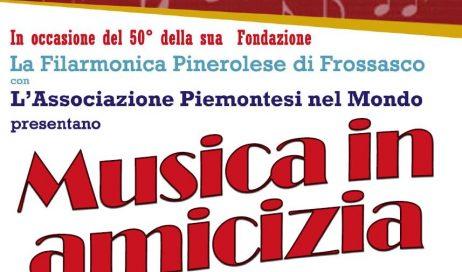 Il 21 aprile a Pinerolo un concerto per i 50 anni della Filarmonica Pinerolese