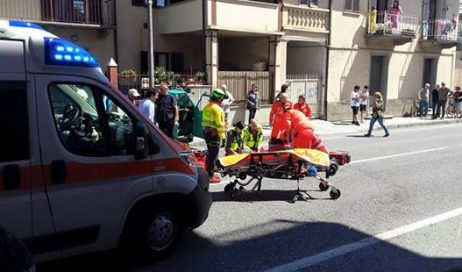 Luserna San Giovanni. Incidente mortale in via I Maggio. È deceduto Maurizio Rambaud