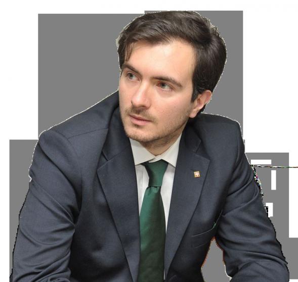 Riccardo Molinari, segretario nazionale Lega Nord Piemont