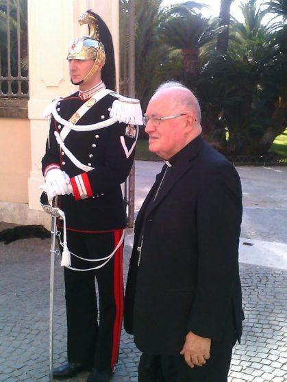 vescovo in quirinale