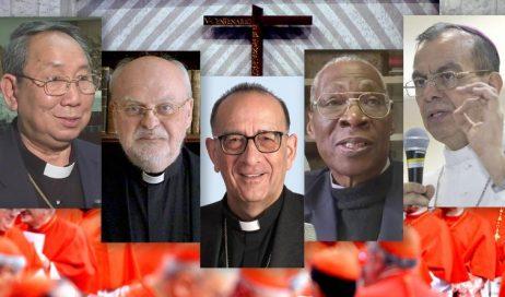 Quarto Concistoro di Papa Francesco. Ecco chi sono i cinque nuovi cardinali