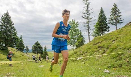"""Pomaretto. Record della corsa per Rostan al Vertical """"Li Viol di Ramìe"""""""
