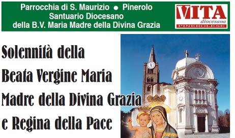 Pinerolo. Dal 30 agosto al 3 settembre la Festa del Santuario Diocesano