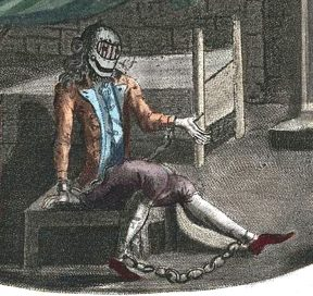 Allegato 3 - Vita 2017 N° 16 (FIGURA 3) La Maschera di Ferro in una stampa anonima del 1789