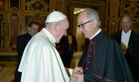 Roma. Monsignor Derio Olivero ha incontrato Papa Francesco