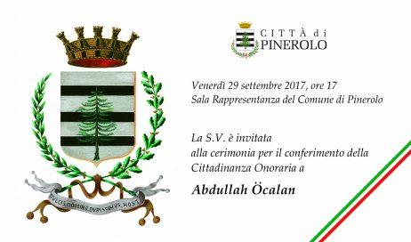 CITTADINANZA ONORARIA DI PINEROLO A Öcalan. La consigliera metropolitana Canalis: è una follia!