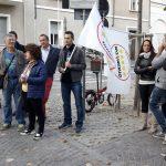 Pinerolo. 5 stelle in piazza per dire no alla legge elettorale