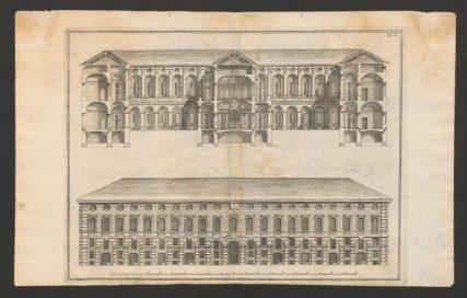 Allegato 1 ('Vita 2017-17 - FIGURA 4'), Bernardo Antonio, Progetto per Ospizio dei Catecumeni, 1740 (1766)