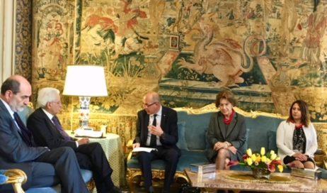 CINQUECENTENARIO DELLA RIFORMA. Il presidente Mattarella ha ricevuto una delegazione di protestanti