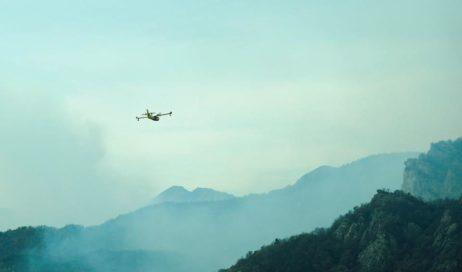 Emergenza incendi. Ancora fuoco in Val Noce e a Cumiana