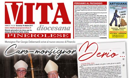 Prima pagina del n. 18 – 16 ottobre 2017