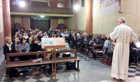 Con monsignor Derio in preghiera per le missioni