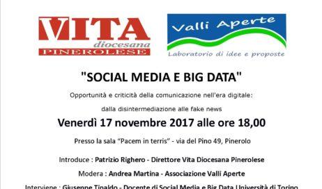 Venerdì 17 novembre a Pinerolo un incontro su social e fake news