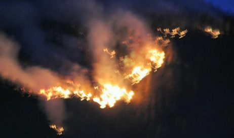 Roure. Incontro pubblico sui ripristini dopo gli incendi del 2017