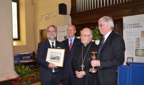 Il saluto della chiesa Valdese a monsignor Debernardi