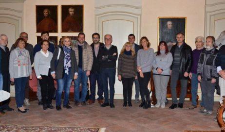 Monsignor Derio Olivero ha incontrato in vescovado gli amministratori del pinerolese