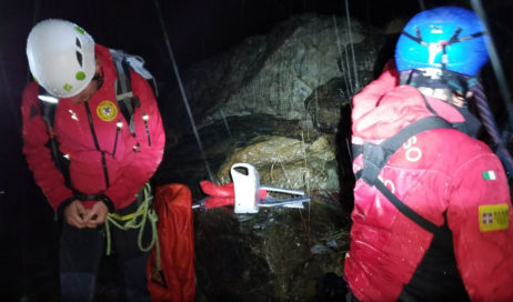 Val Pellice. Salvato dal Soccorso Alpino un escursionista scivolato in un dirupo