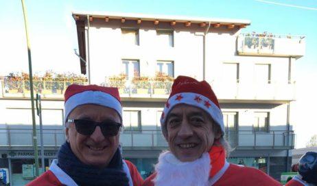 Babbi Natale in moto da Pinerolo a Torino per portare allegria ai bambini ricoverati negli ospedali